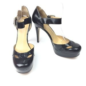 Ninewest Cawley Patent Leather Platform Heels